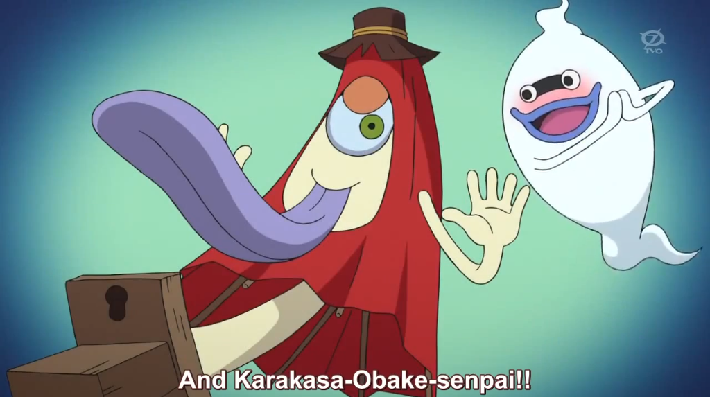karakasa obake in Youkai Watch
