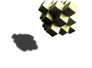 Objekt und Schatten