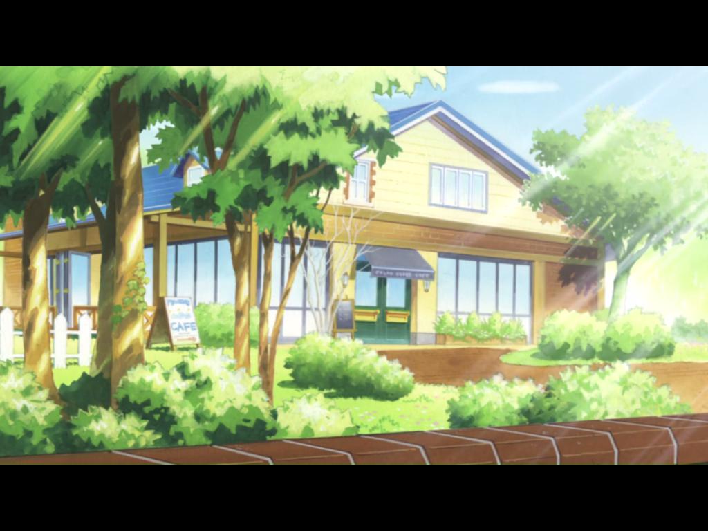 """Das """"Shirokuma Cafe"""" von außen - was für eine Idylle! Wer wäre hier nicht auch gerne Stammgast?"""