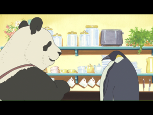 """Der Anti-Chibi: die Figur des Pinguins besitzt nicht gerade, was man sich klassischerweise unter """"Anime-Augen"""" vorstellt"""